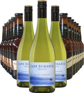 Cape Schanck Pinot Grigio and Beer Bundle