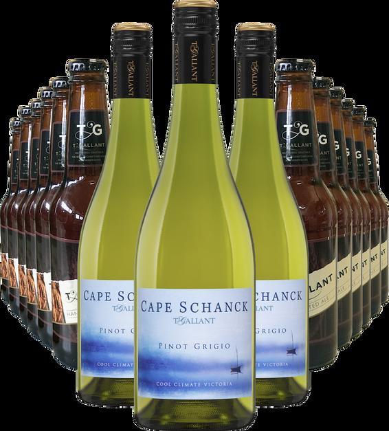 Cape Schanck Pinot Grigio and Beer Bundle
